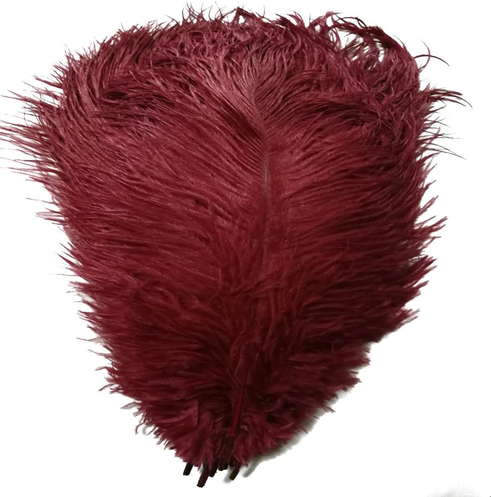 MELADY Pack Inexpensive of 50pcs Natural Ostrich 16-18inch Feathers Opening large release sale 40~45cm