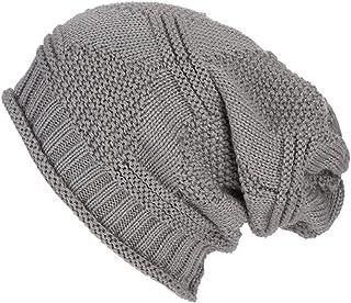 TWGONE Womens Knit Cap Baggy Warm Crochet Winter Wool Ski Beanie Skull Slouchy Hat