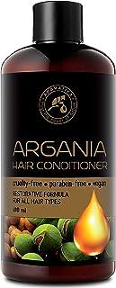 Argan Acondicionador para Cabello 480ml - Conditioner - Argán Natural & Aceite de Oliva para Todo Tipo de Cabello - Fórmul...