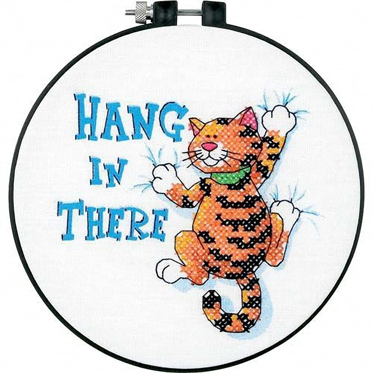 Dimensions Needlecrafts Stamped Cross Stitch, Hang in There