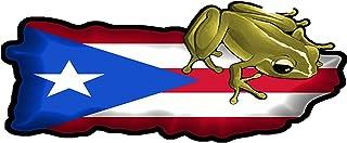 PUERTO RICO Flag Custom License Plate Boricua Emblem Version # 5
