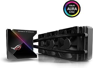 ASUS ROG RYUJIN 360 - Sistema de refrigeración líquida de CPU con OLED de Color, Aura Sync RGB, Tubo de Goma Reforzado de 38 cm, Ventiladores iPPC Noctua Industrial PWM de 120 mm