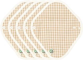 Thinkeco Organic-Hanji Cotton Reusable Menstrual Panty Liner (Pack of 5) (XS)