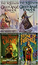 4 Book Set of Tad Williams' Memory, Sorrow and Thorn Trilogy Series (Set Includes: The Dragonbone Chair, The Stone of Fare...