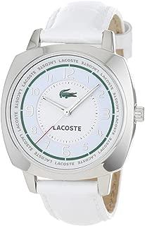 Lacoste Women's 2000598 Palma White Leather Strap Watch
