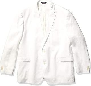 Men's Modern Fit White Linen Suit Separates-Custom Jacket...