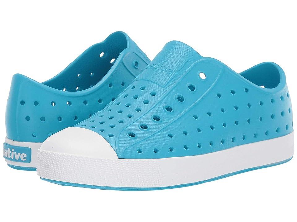 Native Kids Shoes Jefferson (Little Kid/Big Kid) (Ultra Blue/Shell White) Kid