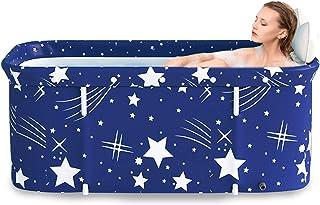 maintien efficace de la temp/érature baignoire portable pour adultes Bain /à remous non gonflable baignoire de trempage sur pied pour cabine de douche Baignoire pliable