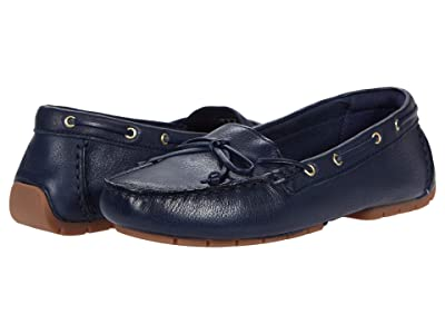 Clarks C Mocc Boat (Navy Leather) Women