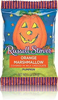 Russell Stover Orange Marshmallow in Milk Chocolate, 1 Ounce Single (Pack of 36)