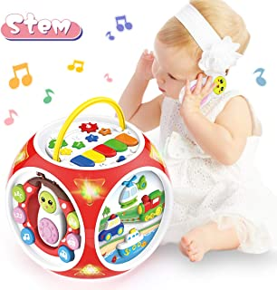 BAOLI 6 in 1 Baby Musical Activity Cube Center Toy for Toddlers Boys Girls Gifts 18Months and up Preschool Educational Lea...