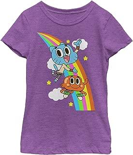 The Amazing World of Gumball Girls' Rainbow Brothers T-Shirt