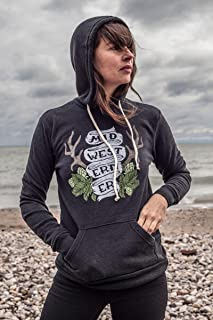 The Midwesterner Black Hoodie. Soft Midwest Pride Hoodie for the Middle Coast