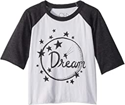 Extra Soft Jersey Dream Raglan Tee (Little Kids/Big Kids)