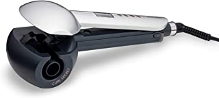 Babyliss C1600SDE Hair Curler with 3 Heat Settings and 3 Timer Settings - Pack of 1, silver, 22 cm