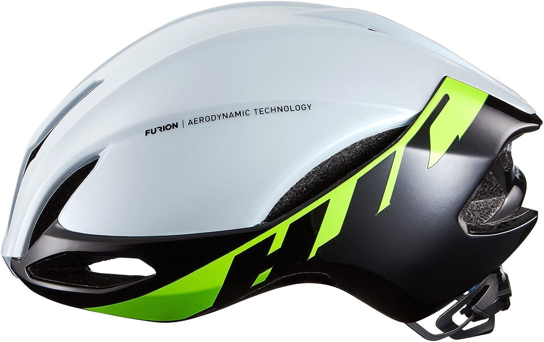 HJC Furion Road Bike Helmet Glossy White Green