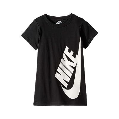 Nike Kids Sportswear T-Shirt Dress (Toddler) (Black) Girl