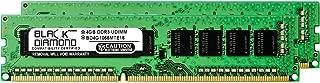 8GB 2X4GB RAM Memory for SuperMicro AS Server AS-1042G-TF DDR3 UDIMM 240pin PC3-8500 1066MHz Black Diamond Memory Module Upgrade