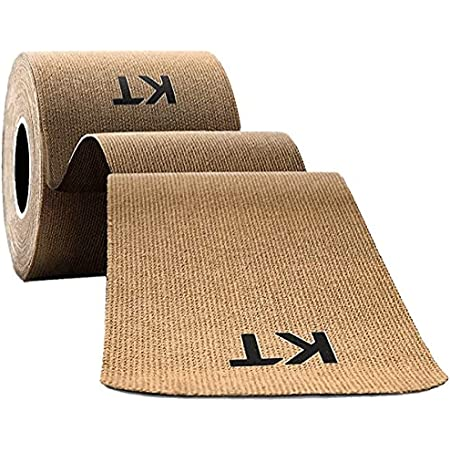 KT Tape Original Cotton Elastic Kinesiology Therapeutic Athletic Tape, 16 Ft, Uncut Roll