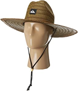 79b5e6bc310bb7 Quiksilver pierside straw lifeguard hat youth | Shipped Free at Zappos