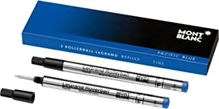 Mont Blanc Rollerball Refill, Legrand Fine 2X1, Pacific Blue (105167)