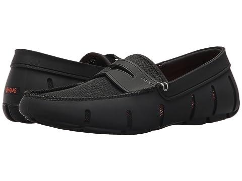 Swims Penny Loafer Shoe in Glacier Grey /& Turkish Tile