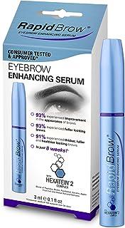 RAPIDBROW Eyebrow Serum, 1 Fluid Ounce clear