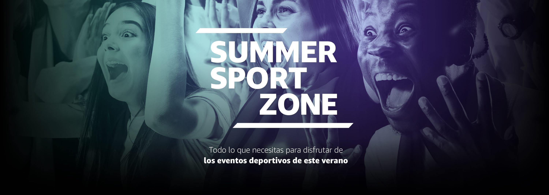 Summer Sport Zone. Todo lo que necesitas para disfrutar de los eventos deportivos de este verano