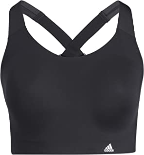 adidas Ultimate Bra PS Women's Sports Bra, Womens, Sports Bra, GP6784, Black, S