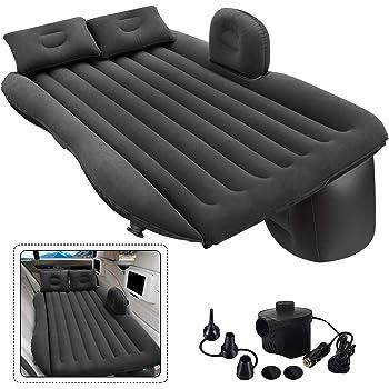 Gray TOPHORT Bed Car Mattress Car Sleeping Bed Camping Mattress Travel Inflatable Mattress Air Bed Large Size