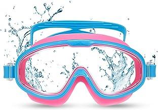 Funní Día Kinderen zwemmen Goggles, Geen Lekkende Anti-Fog Panoramische Duidelijke Visie zwemmen Goggles voor Jonge geitjes