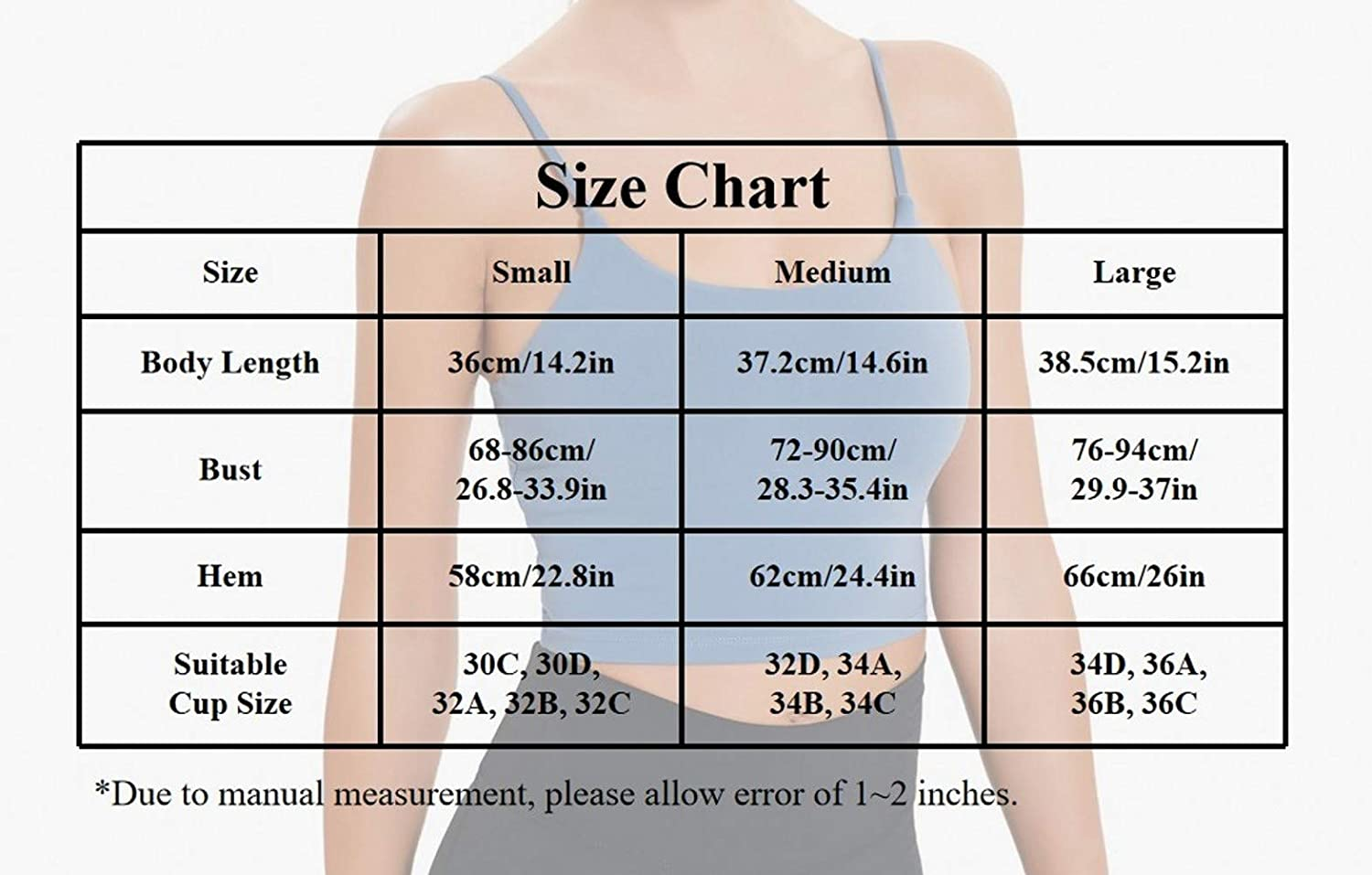 Women Yoga Tank Tops Padded Sports Bra Workout Fitness Running Crop Top