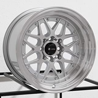 15x8 Vors VR7 4x100/4x114.3 0 Silver Wheel Rim