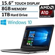 2016 Newest Dell Inspiron 15 5000 Touchscreen High Performance Laptop, AMD Quad-Core A10-8700P...
