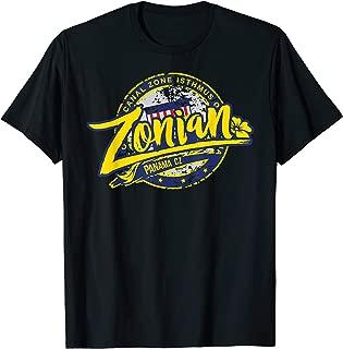 Zonian Panama CZ T-Shirt - Panama Canal Zone