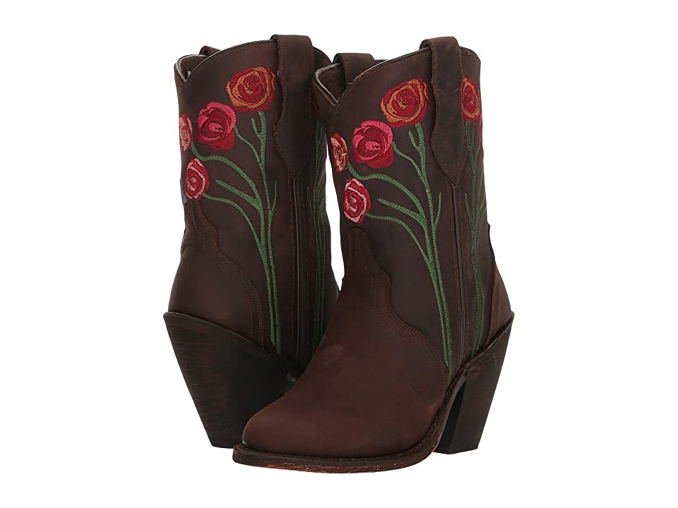 Dingo Rosita (Brown Leather) Cowboy Boots