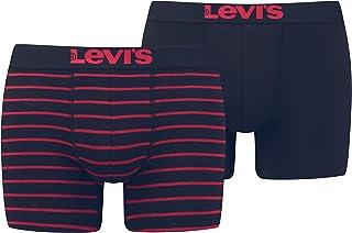 Levi's Vintage Stripe Boxers Briefs Mutande da Uomo (Pacco da 2)