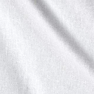 Ben Textiles Rayon Linen Blend White