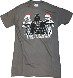 I Find Your Lack of Cheer Disturbing Darth Vader Graphic T-Shirt
