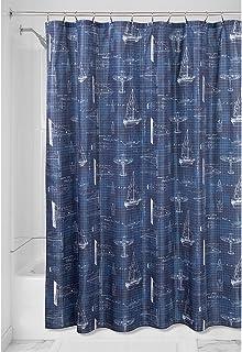 "InterDesign Novelty Fabric Shower Curtain, 72"" x 72"""