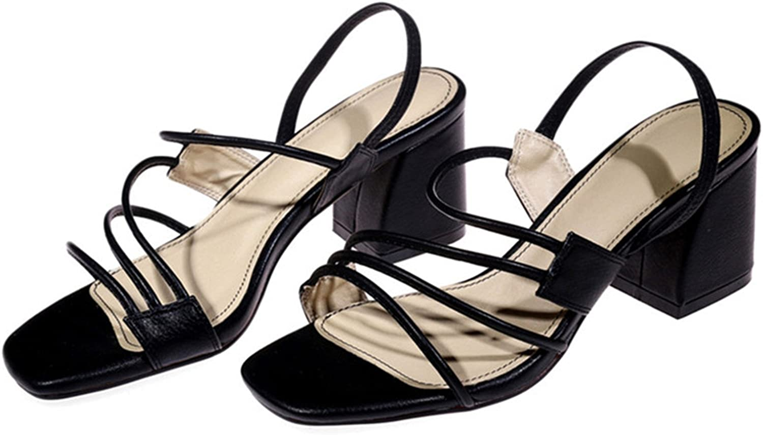 Aworth Popular shoes in Summer High Heels Sandals Women shoes Pu+Genuine Leather shoes Fashion Party