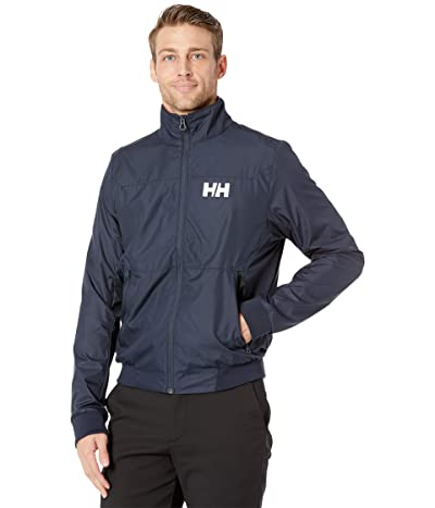 Helly Hansen Crew Windbreaker Jacket (Navy) Men