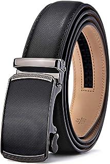 Cinturón Hombre Cuero Automática Cinturón De Hombre 35MM-Tamaño Ajustable