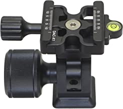Desmond DMH-2 & 50mm DAC-X1 Clamp Tripod Tilt Head Arca /RRS Compatible Oversized Knob