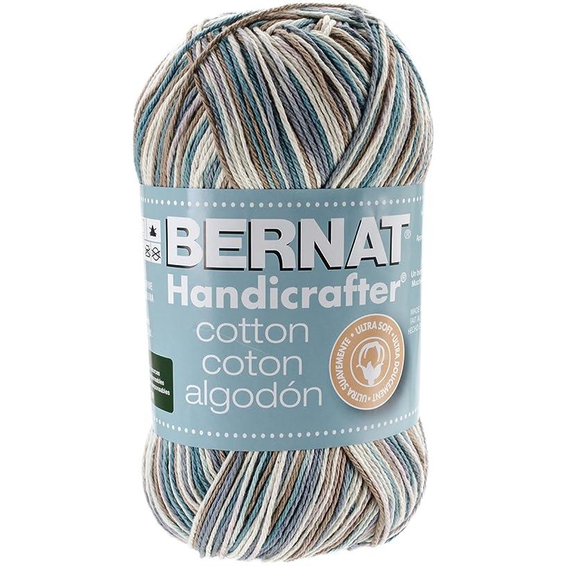 Bernat Handicrafter Cotton Yarn, Ombre, 12 Ounce, Tiara
