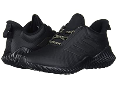 adidas Kids FortaRun (Little Kid/Big Kid) (Black/Gold Metallic) Kid