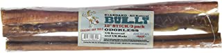 Chasing Our Tails 6100 Standard Odorless Pet Bully Stick (3 Pack), 12