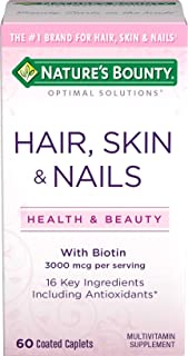Nature's Bounty Skin, Hair, Nails Formula, 60 Tablets