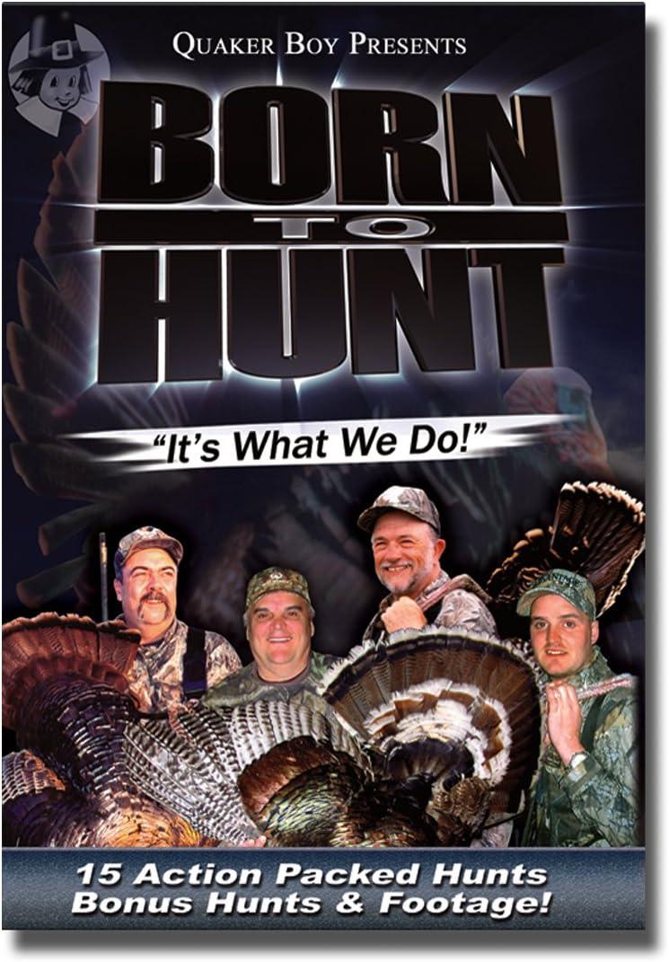 Quaker Cheap mail order sales Boy Born to Hunt Attention brand Turkey 1 Vol. DVD Call