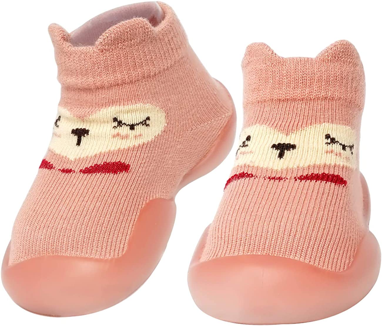 WEAPRIL Baby Toddler Sock Shoes Sole Non-Skid TPE Outdoor Over item handling ☆ Indoor Max 56% OFF